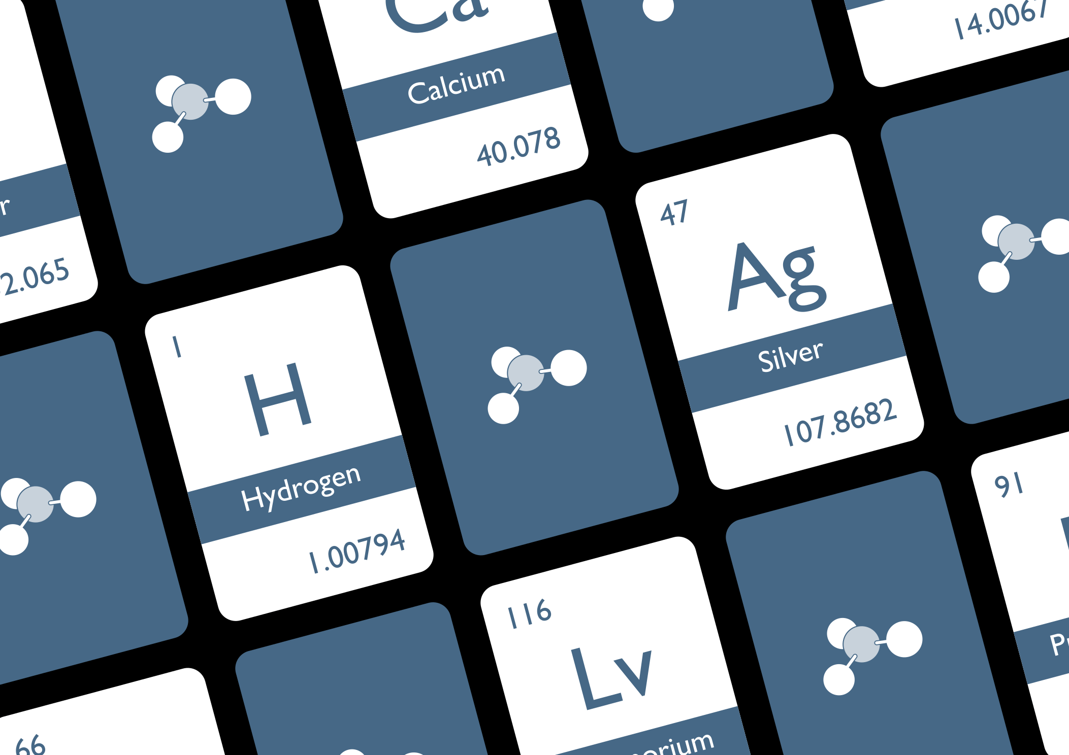 Periodic Table Flashcards #1 - Available in 39 languages